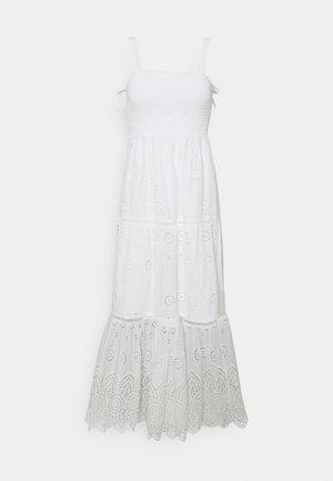 LORETTA SHIRRED DRESS - Day dress - porcelain