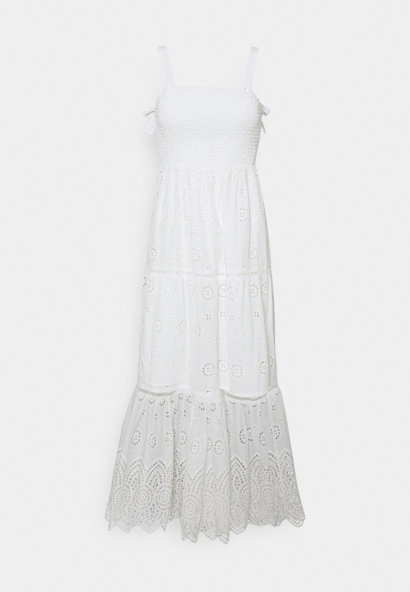 Forever New - LORETTA SHIRRED DRESS - Day dress - porcelain