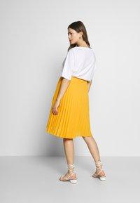 Pomkin - CHARLOTTE - Áčková sukně - jaune / yellow gold - 2