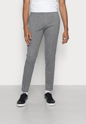 PUNTO MILANO SLIM PANTS - Trousers - mid grey heather