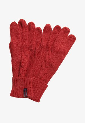 Fingerhandschuh - furnace red