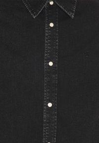 Calvin Klein Jeans - SLIM FOUNDATION  - Skjorta - black - 2