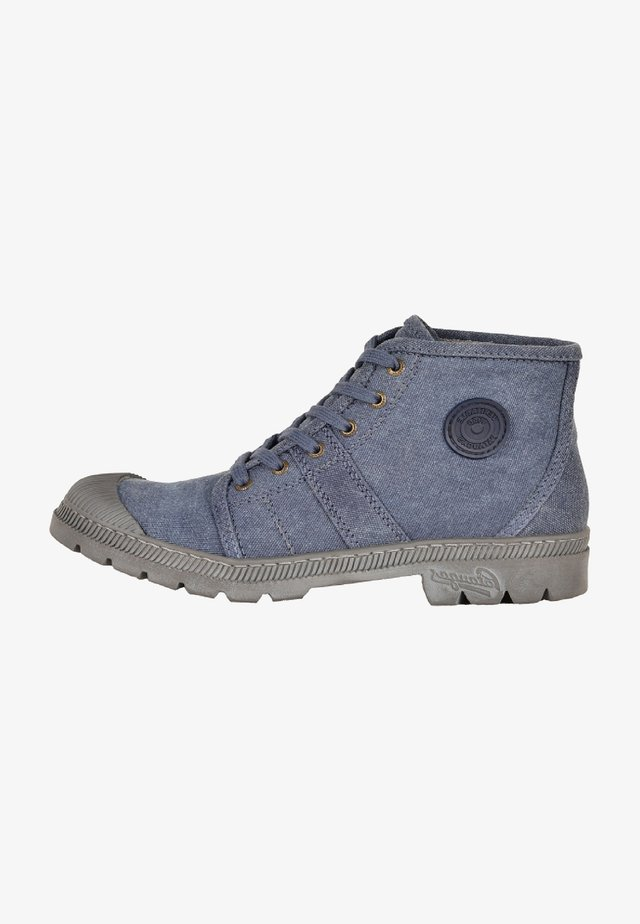 AUTHENTIQ/R F2F - Lace-up ankle boots - navy blue
