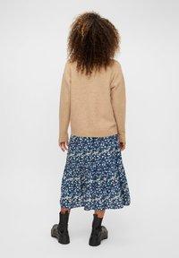 Pieces - A-line skirt - maritime blue - 2