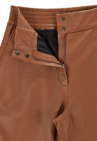 BOSS - SIWETTA - Trousers - light brown - 4