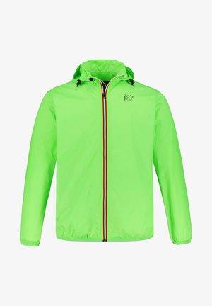 Waterproof jacket - neongrün