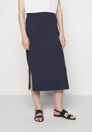 Pencil skirt - dark steel blue