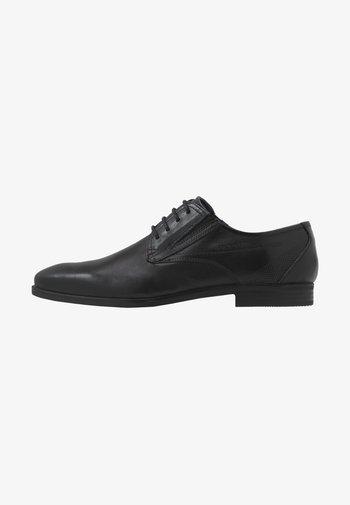 SAVIO EVO - Smart lace-ups - black