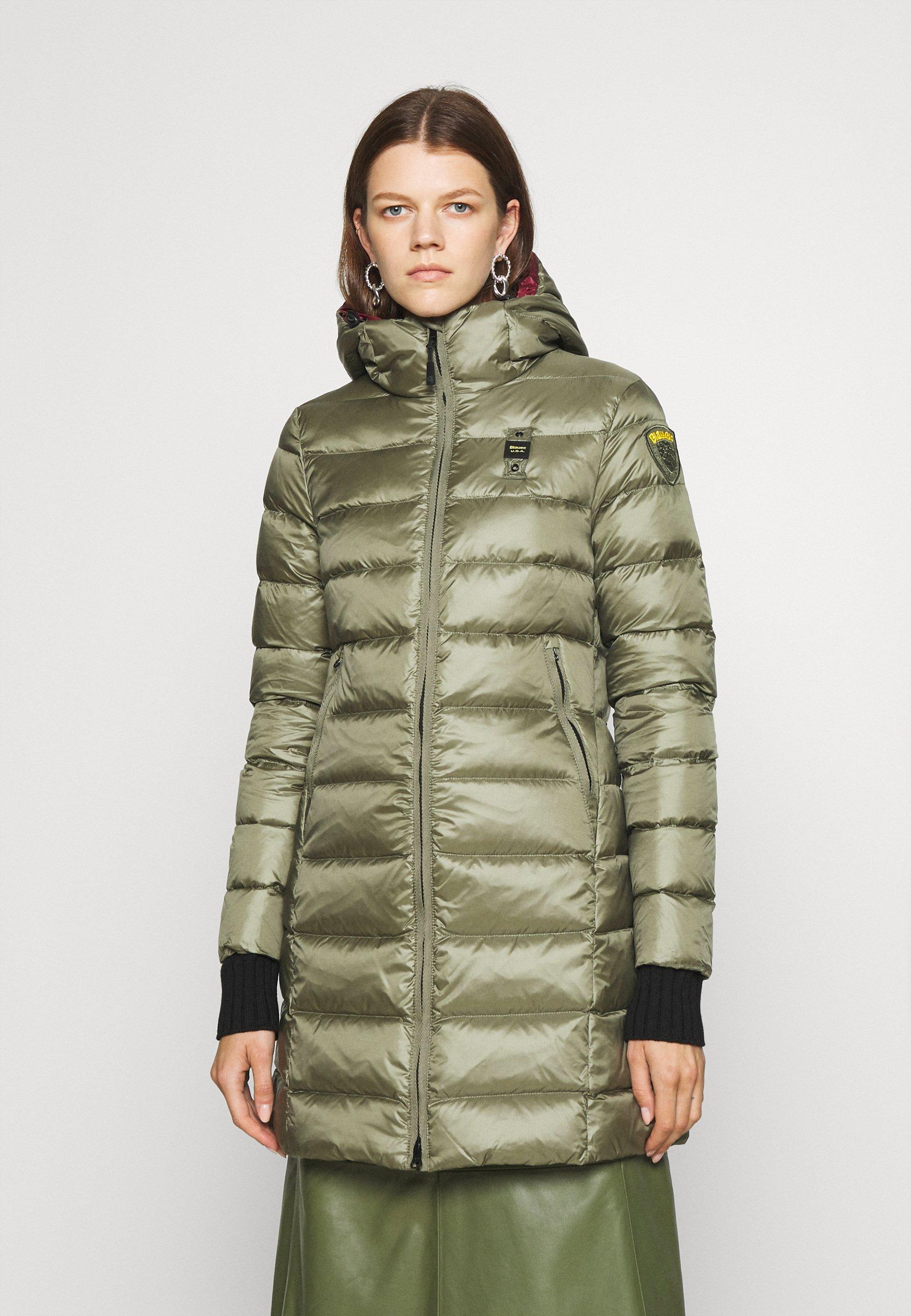 Women BASIC HOODED LIGHT JACKET LONG  - Down coat