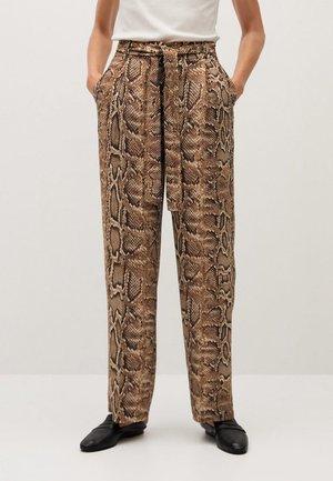 Pantalon classique - braun