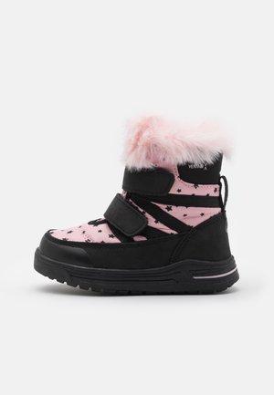 FOXEN UNISEX - Snowboots  - black/pink