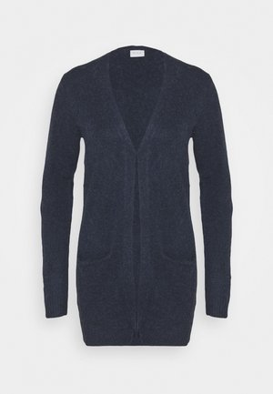 VIHANNA OPEN - Cardigan - navy blazer/melange