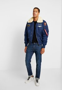 Alpha Industries - INJECTOR  AIR FORCE - Blouson Bomber - new navy - 1