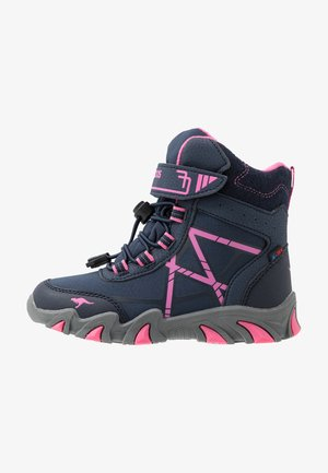 K-TIAN RTX - Lace-up ankle boots - dark navy/daisy pink