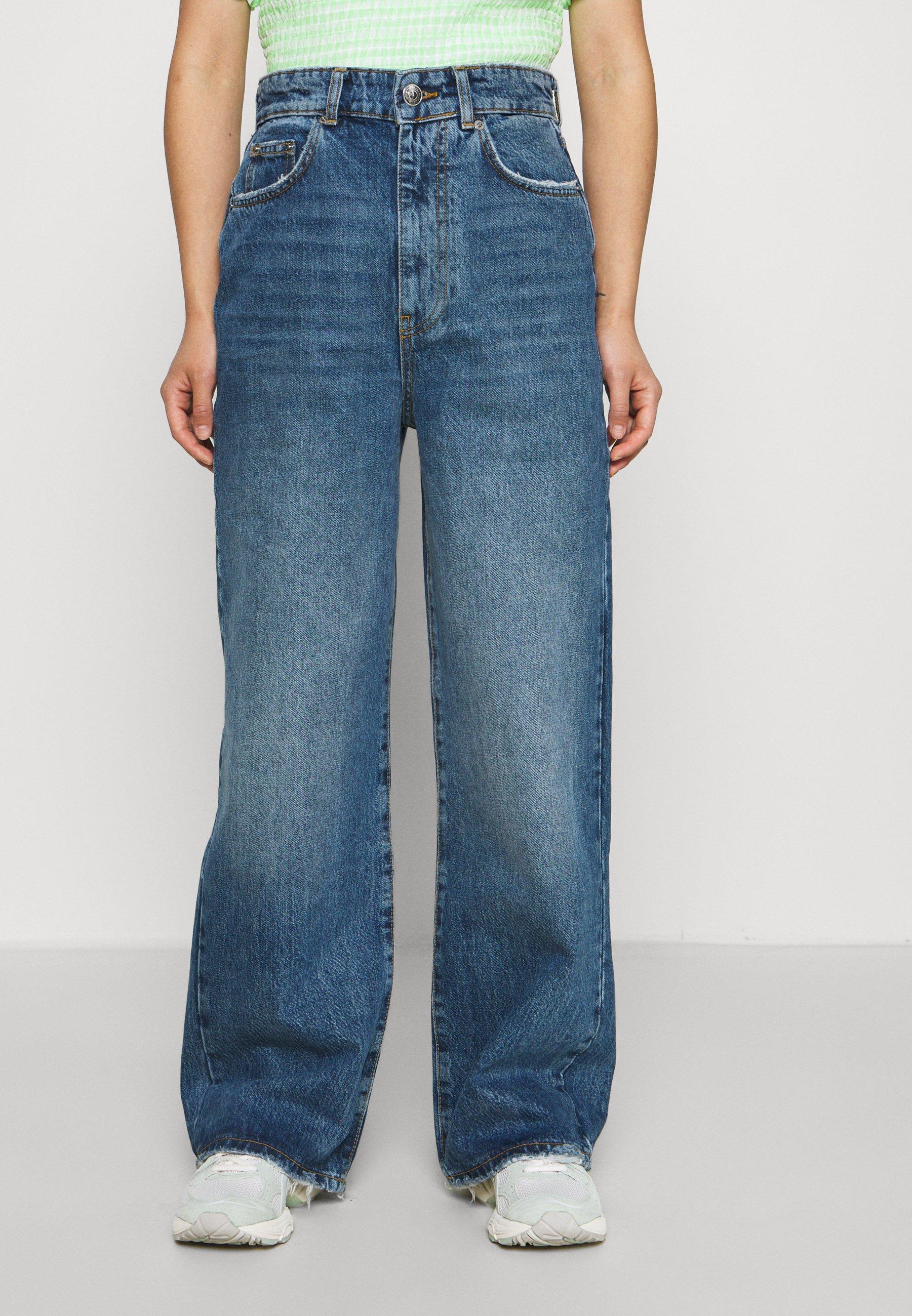 Donna IDUN WIDE JEANS - Jeans baggy