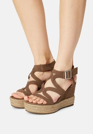 taupe - High heeled sandals - taup