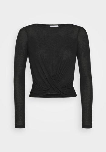 VIJUDA - Camiseta de manga larga - black