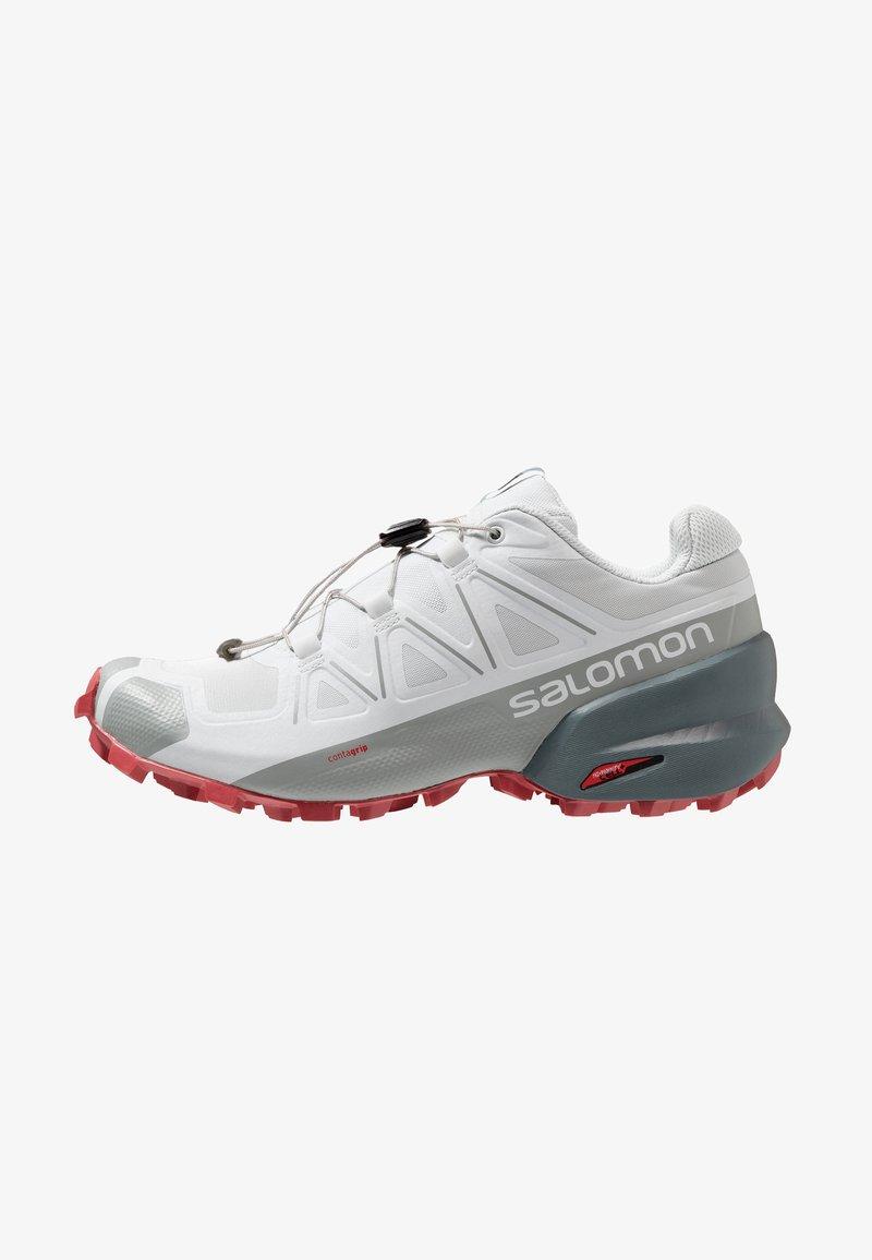 Salomon - SPEEDCROSS 5 - Trail running shoes - illusion blue/stormy weather/garnet