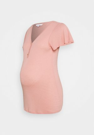 TEE NURS DAAN - T-shirt basic - rose tan