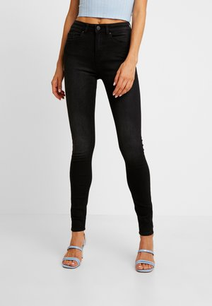 ONLFHUSH LIFE - Jeans Skinny Fit - black denim