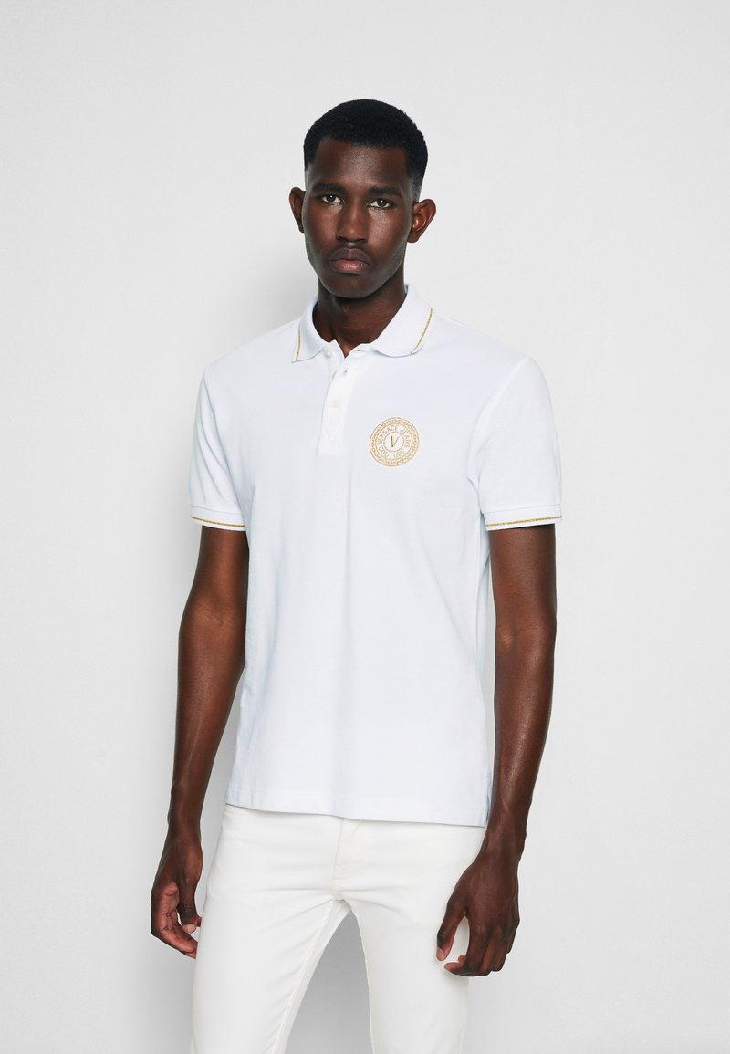 Versace Jeans Couture - Polo - bianco/gold