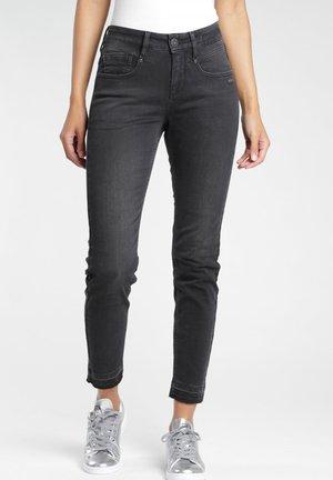 Slim fit jeans - black base wash
