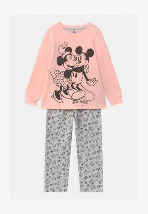 DISNEY MICKEY MOUSE & MINNIE MOUSE - Pyjama set - grey melange