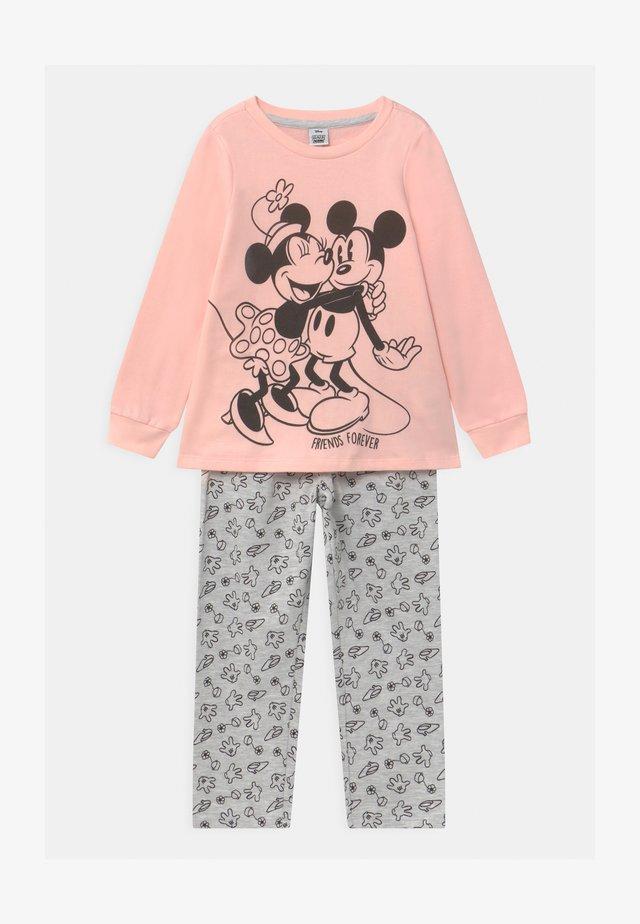 DISNEY MICKEY MOUSE & MINNIE MOUSE - Pijama - grey melange
