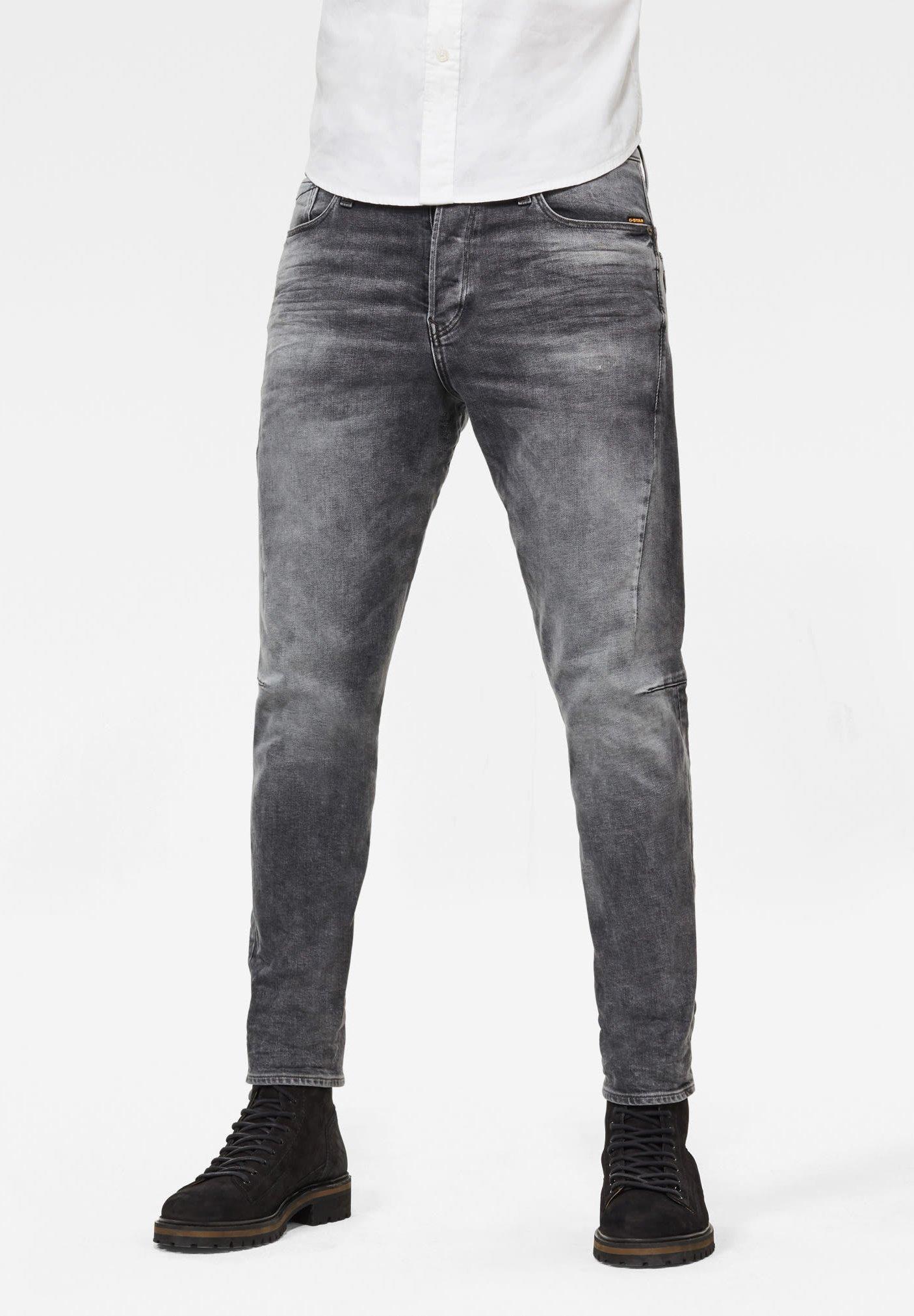 Men SCUTAR 3D SLIM TAPERED - Slim fit jeans