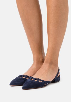 Slingback ballet pumps - abyss