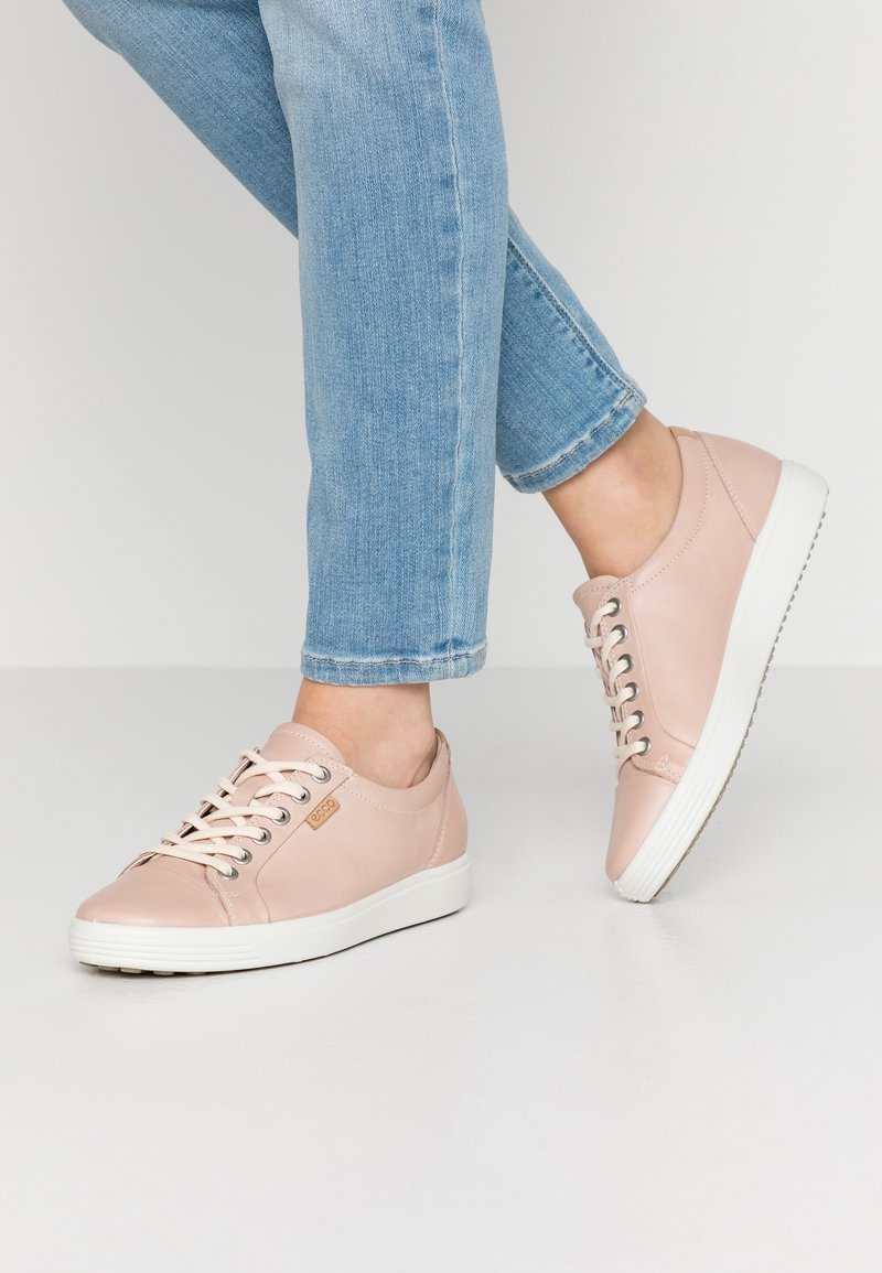 ECCO - ECCO SOFT 7 W - Trainers - rose dust