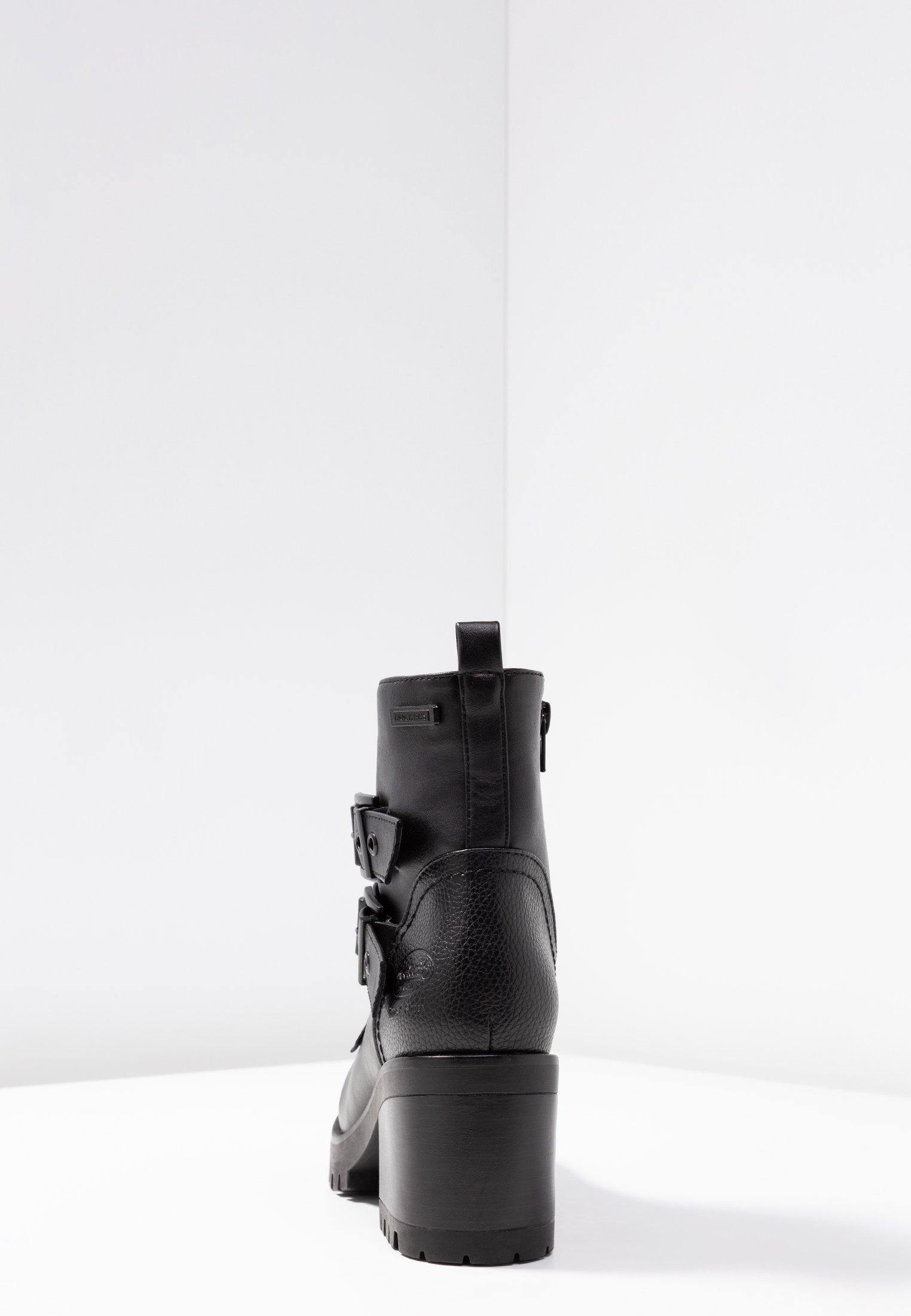 Dockers By Gerli Cowboystøvletter - Schwarz/svart