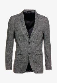 Esprit Collection - CHECK BLAZER - Blazer jacket - dark grey - 4