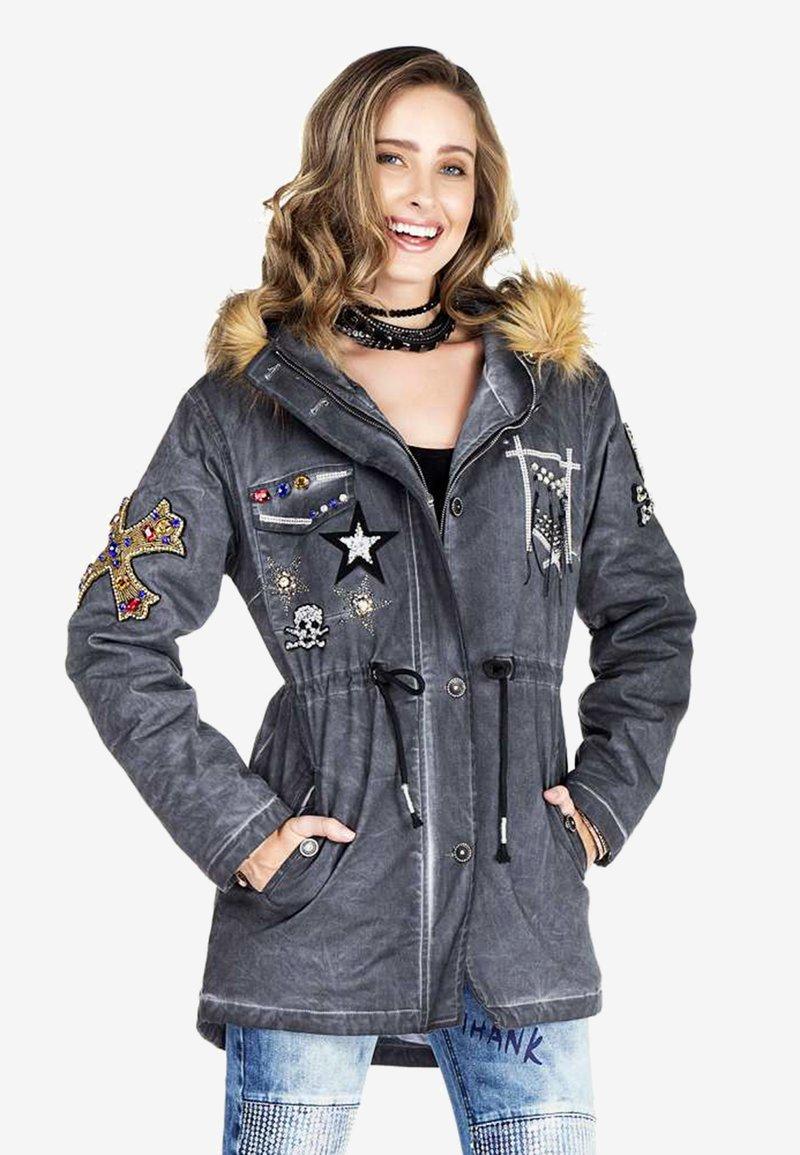 Cipo & Baxx - Winter jacket - anthracite