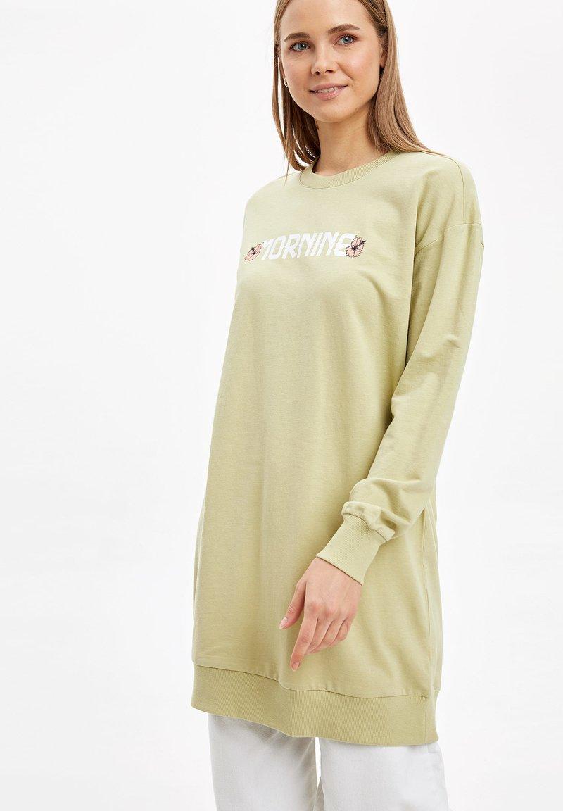 DeFacto - Long sleeved top - beige