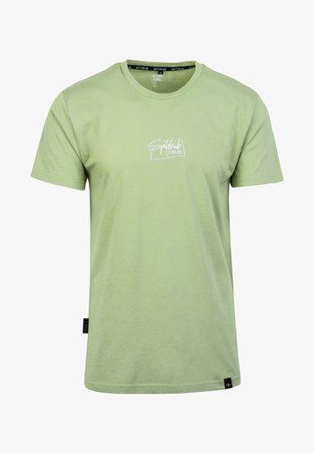 DAMIAN - Basic T-shirt - grün