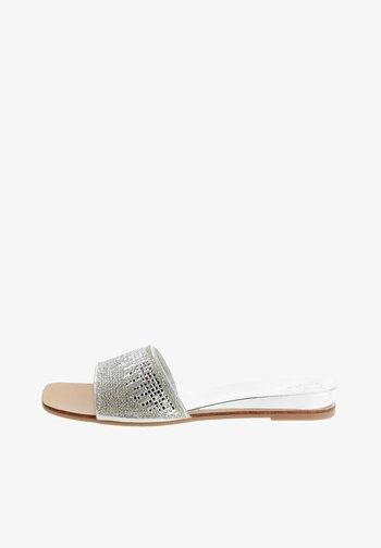 GLURSINO - Mules - silver