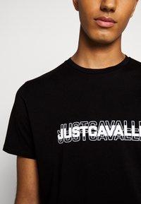 Just Cavalli - Print T-shirt - black - 5