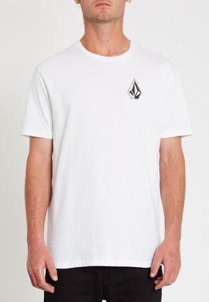 C. VIVARY FA SS - Print T-shirt - white