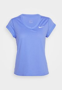 Nike Performance - DRY  - T-shirts - royal pulse/white
