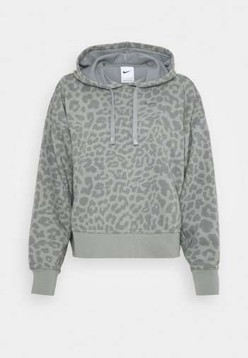 Hoodie - particle grey/white