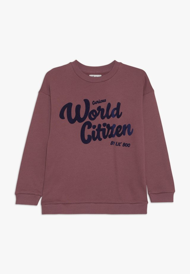 CURIOUS WORLD CITIZEN - Sweatshirt - renaissance rose