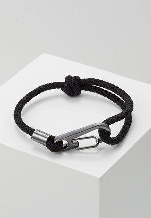 HINDER CORD BRACELET - Bracelet - black