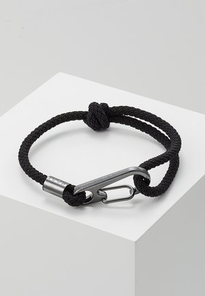HINDER CORD BRACELET - Bracciale - black