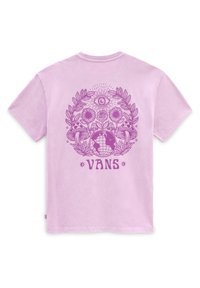Vans - WM STRANGE TRIP OS S/S - Print T-shirt - orchid - 2