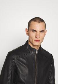 HUGO - LOKIS - Leather jacket - black - 3