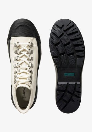 Sneakers laag - off wht/blk