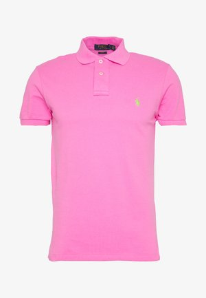 SHORT SLEEVE KNIT - Polo shirt - maui pink