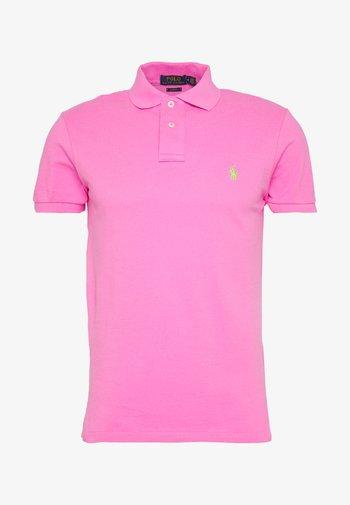 SHORT SLEEVE KNIT - Polo shirt - maui pink