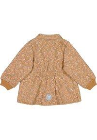 Wheat - Winter jacket - golden flowers - 1